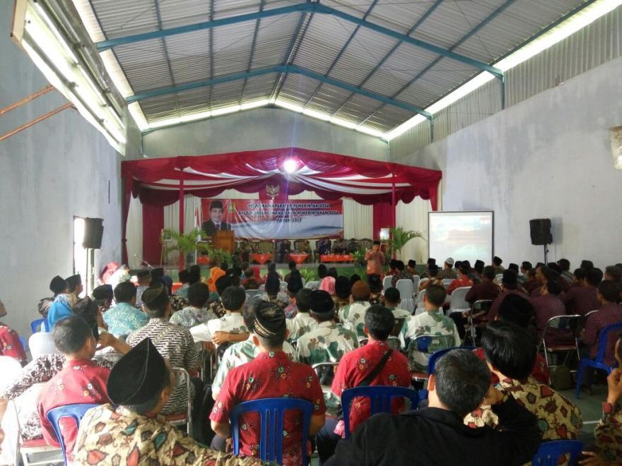 Image : Pelatihan Aparatur Pemerintah Desa Oleh Bupati Magelang Tahun 2017